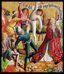 The Stoning of St. Stephen by Michael Pacher