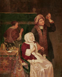 The Doctor's Visit  by Frans van Mieris