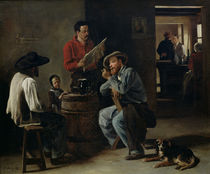 Interior of a Tavern by Francois Bonvin