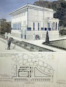 Villa Wagner by Otto Wagner