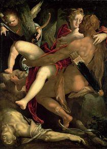 Hercules by Bartholomaeus Spranger