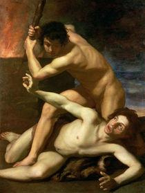 Cain murdering Abel by Bartolomeo Manfredi