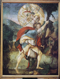 St. Christopher  by Master of Messkirch