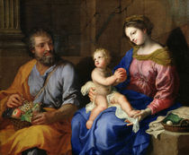 The Holy Family  von Jacques Stella