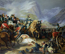 The Battle of Rivoli by Felix Philippoteaux