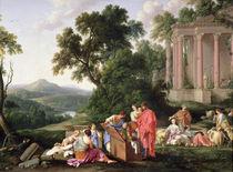 Laban Searching for the Idols by Laurent de La Hyre