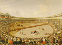 The Bullfight  by Eugenio Lucas y Padilla