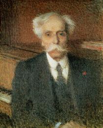 Gabriel Faure  von Ernest-Joseph Laurent