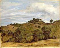Landscape near Olevano by Heinrich Reinhold