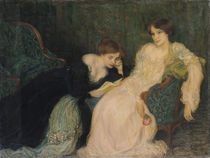 Intimacy  von Edmond-Francois Aman-Jean