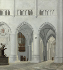 Interior of the Church of St. Bavo by Pieter Jansz Saenredam