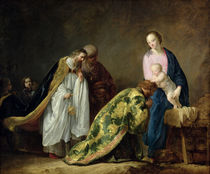 The Adoration of the Magi von Pieter Fransz. de Grebber