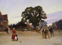 Our Village von Sir Hubert von Herkomer