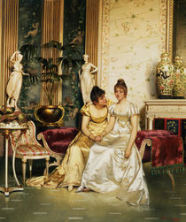 A Shared Confidence  von Joseph Frederick Charles Soulacroix