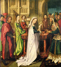 Depiction of Christ in the Temple von Hans Holbein the Elder