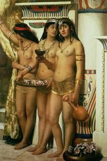 Pharaoh's Handmaidens  by John Collier