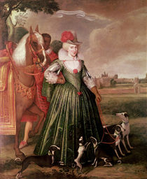 Anne of Denmark by Paul van Somer
