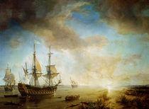 Expedition of Robert Cavelier de La Salle  by Jean Antoine Theodore Gudin