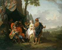 The Abduction of Briseis from the Tent of Achilles by Johann Heinrich Tischbein