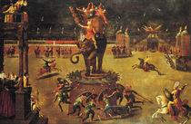 The Elephant Carousel  by Antoine Caron