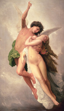 The Abduction of Psyche  by Emile Signol