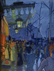 Street Scene von Louis Anquetin