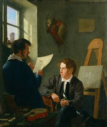 Hermann Kauffmann and Georg Haeselich  by Hermann Kauffmann