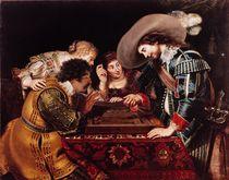 The Game of Backgammon  von Cornelis de Vos