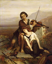 Comfort in Grief by Louis Gallait