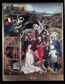 Nativity von Master of Flemalle