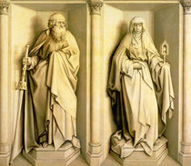 St. James the Great and St. Clare by Master of Flemalle