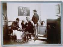 Playing Draughts at Le Relais by Alfred Natanson