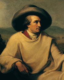 Johann Wolfgang von Goethe  von Johann Heinrich Wilhelm Tischbein