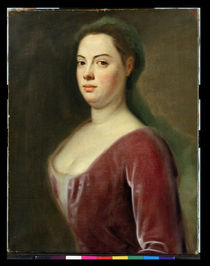 Portrait of Frau Denner  by Balthasar Denner