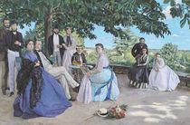 Family reunion von Jean Frederic Bazille