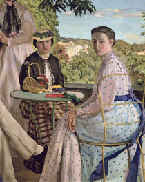Family Reunion by Jean Frederic Bazille