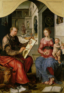 St. Luke Painting the Virgin by Maerten van Heemskerck