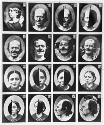 Physiognomical studies von Guillaune Benjamin Duchenne de Boulogne