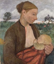 Mother and Child by Paula Modersohn-Becker