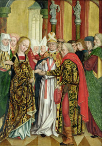 Marriage of the Virgin by Absolon Stumme