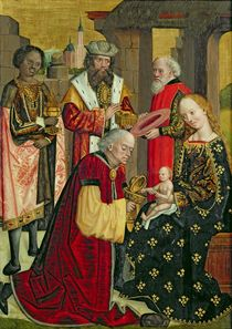 The Adoration of the Magi von Absolon Stumme