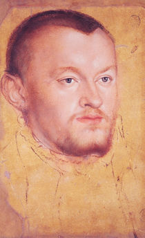 Portrait of Augustus I  by Lucas the Younger Cranach
