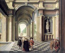 A Renaissance Hall  by Dirck van Delen