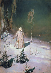 Snow Maiden by Victor Mikhailovich Vasnetsov