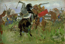 Battle between the Scythians and the Slavonians by Victor Mikhailovich Vasnetsov