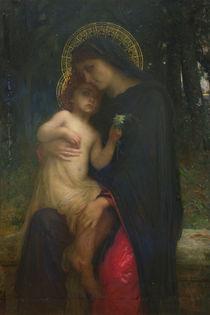 L'Addolorata  von Antoine Auguste Ernest Herbert or Hebert
