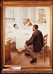 Visiting Day at the Hospital by Henri Jules Jean Geoffroy
