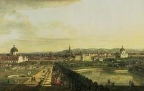 The Belvedere from Gesehen von Bernardo Bellotto