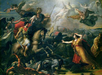 Allegory of the Battle of Marengo  by Antoine Francois Callet