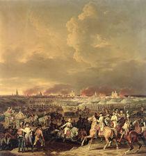 The Siege of Lille by Albert de Saxe-Tachen von Hippolyte Lecomte